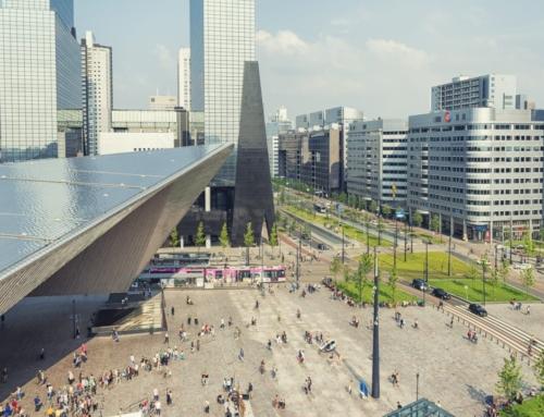 Grootste gebouwgebonden zonnestroomsysteem: Rotterdam CS